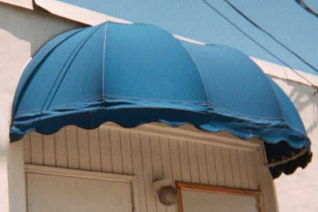 Open Weave Cloth Awning